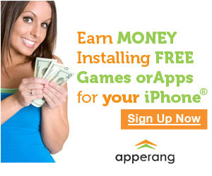 This is really cool.  You have to sign up and when you install apps you get paid.  Sweet!
