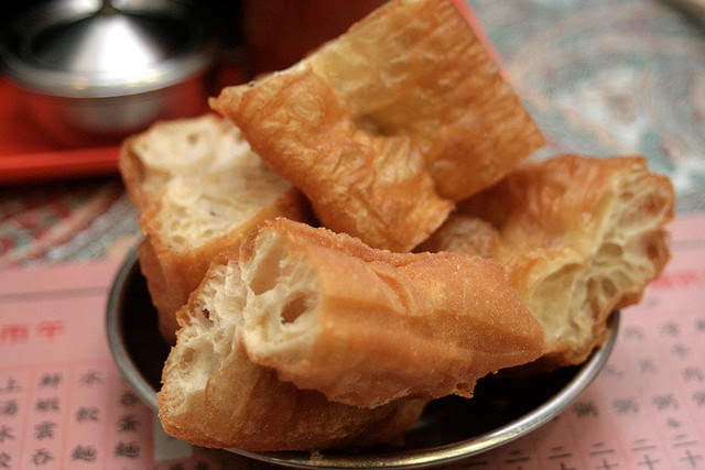 """The """"youtiao"""" is gigantic! And supertasty!"""