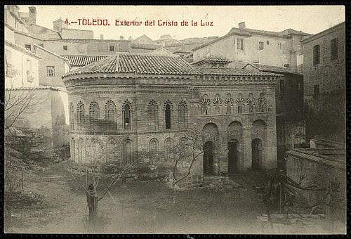 Mezquita del Cristo de la Luz (Toledo), a principios de siglo. Foto Castañeira 1915