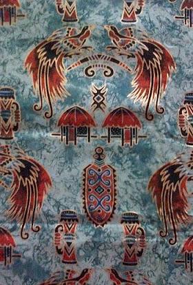 Sketsa Gambar Batik Papua