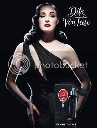 Dita Von Teese New Perfume