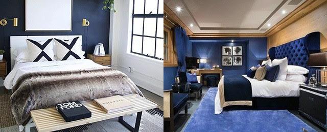 Bedroom Design Grey And Blue