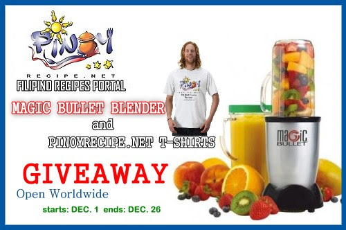 MAGIC BULLET BLENDER  giveaway