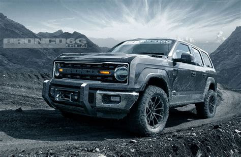 ford bronco   powered   ecoboost rumour