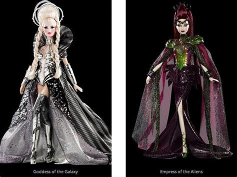 Queen of the Constellations Completes Barbie Sci Fi Collection