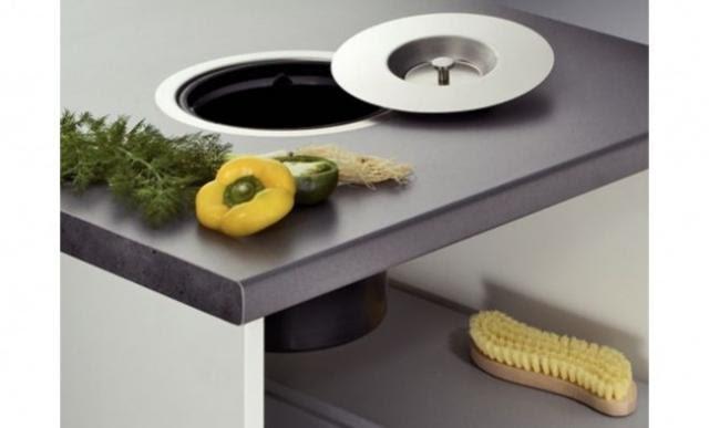 Poubelle encastrable dans plan de travail - Poubelle cuisine encastrable dans plan de travail ...