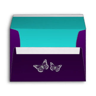 Download Butterfly Printed & Mailing Envelopes | Zazzle