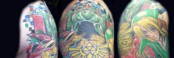 Gaming Sleeve Tattoo