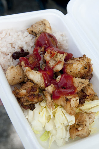 Jerk Chicken, One Love Jamaica Festival, Yoyogi Park