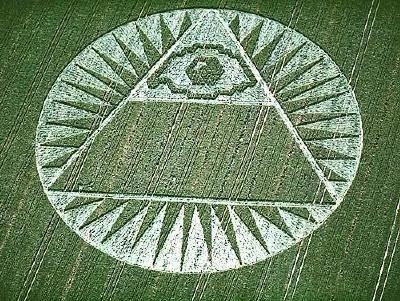 Switzerland Pyramid and all seeing eye