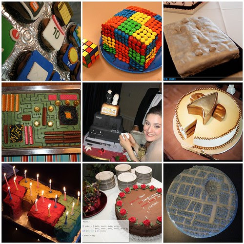 Flickr: Dot D - Geeky Cakes - Flickr Roundup for Dabbled.org