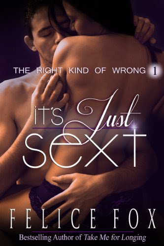 It's Just Sext (The Right Kind of Wrong, #1) by Felice Fox