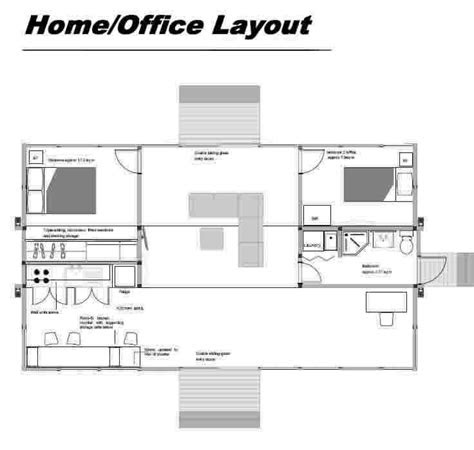 ideas  home office layouts  pinterest