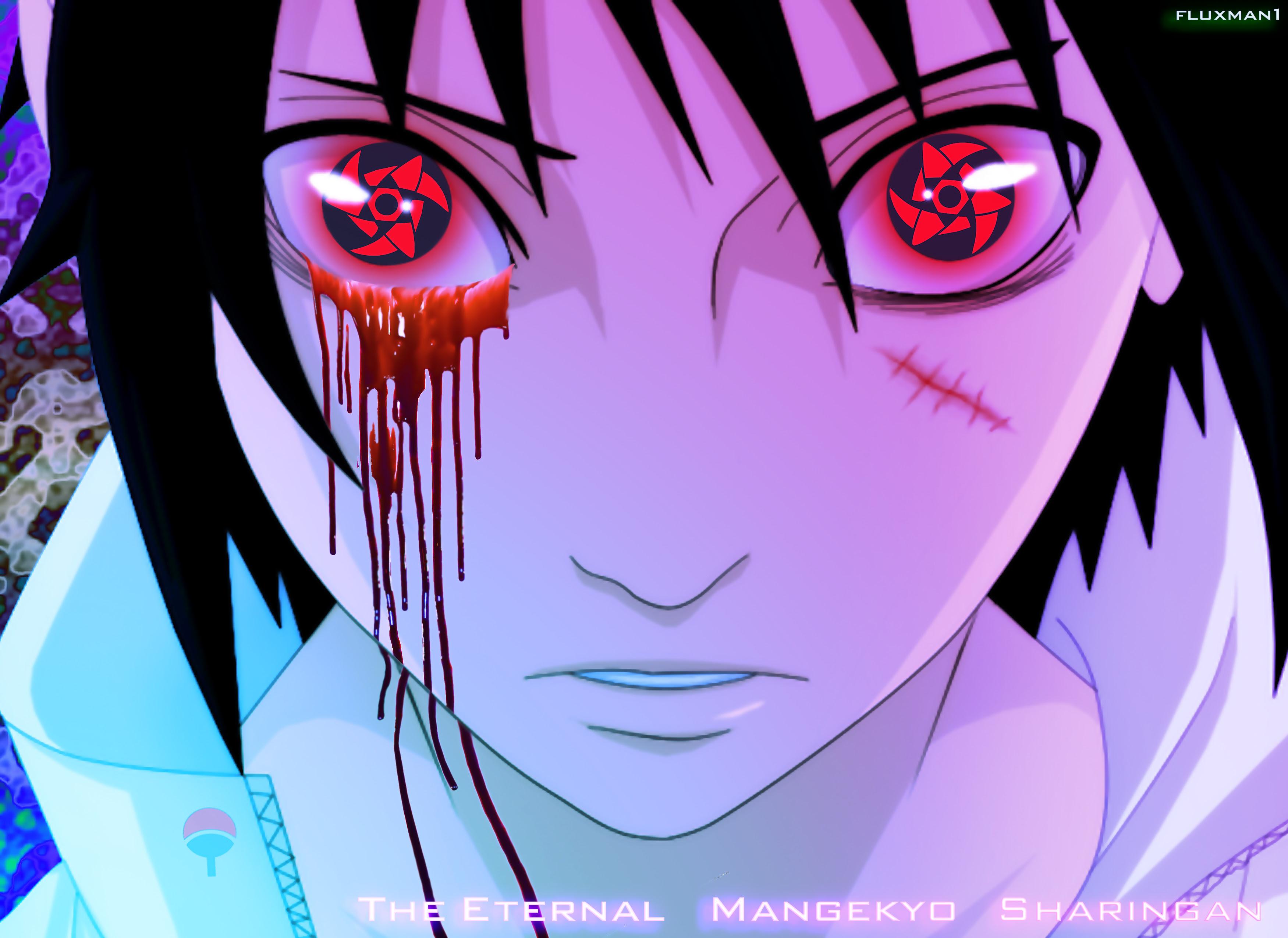 World Stories Sasuke Uchiha Eternal Mangekyou Sharingan