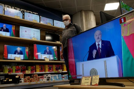 For Belarus Leader, a Fading Aura of Invincibility