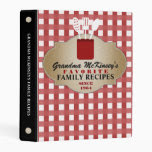 Trusted Family Recipes Personalized Mini Binder