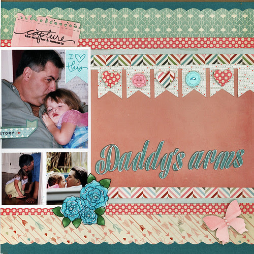 Daddy's arm right page