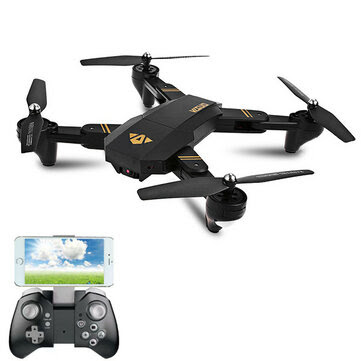VISUO XS809W WIFI FPV With 2MP HD Camera Headless Mode Foldable Arm RC Quadcopter RTF