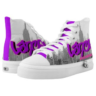 Blox3dnyc.com Empire state design for Lance R Printed Shoes
