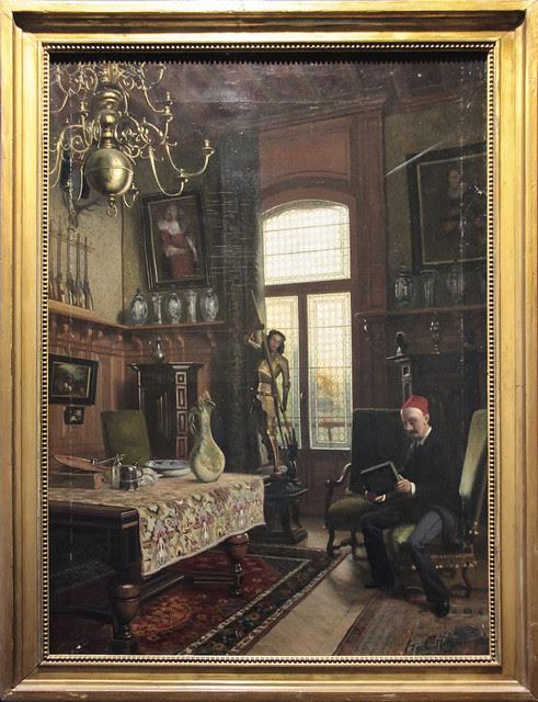 The studio in the Willet-Holthuysen's villa at Le Vesinet - Coen Metzelaar(1845-1887), 1880