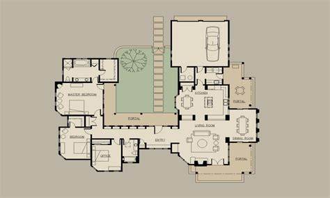 small hacienda house plans hacienda style house plans