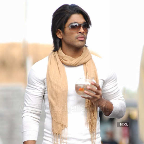 Allu Arjun Hairstyle Arya 2 Hairstyle 817