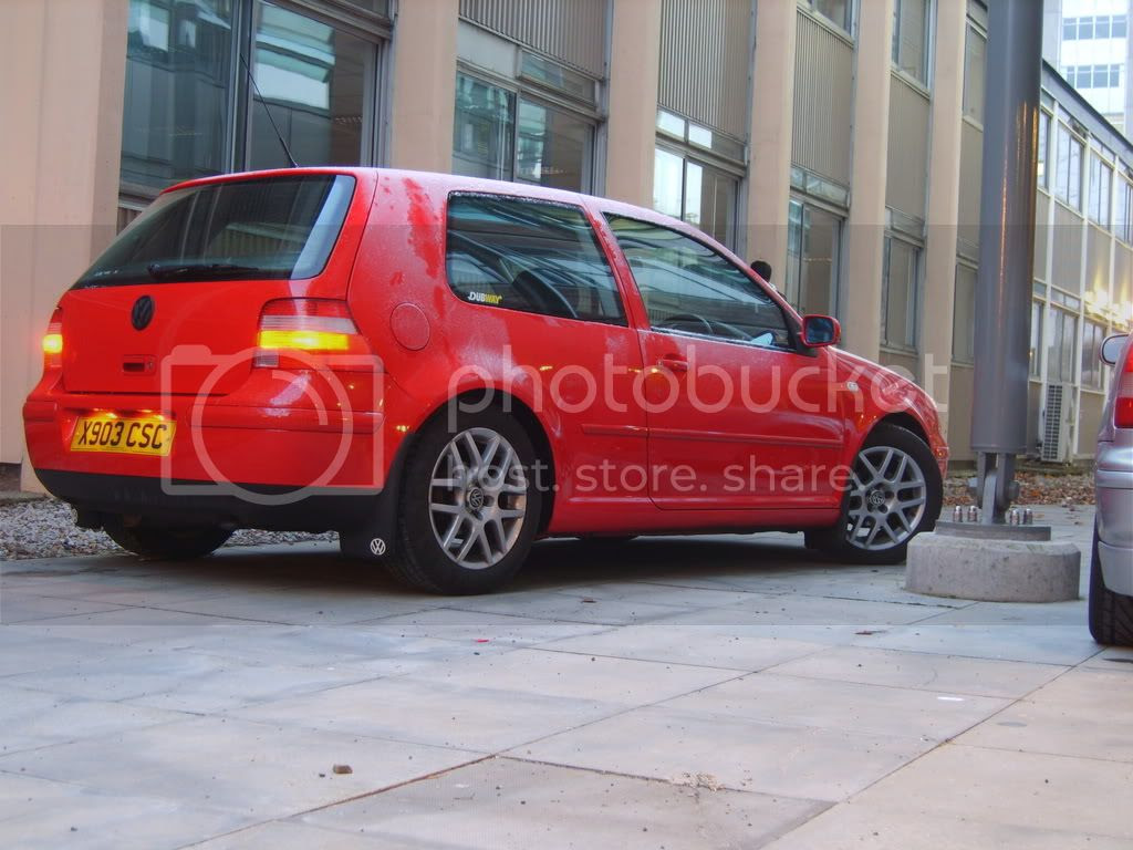 My first Golf love was this red Mk4
