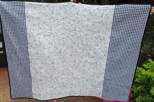 Kitchen Windows quilt #1 Backing