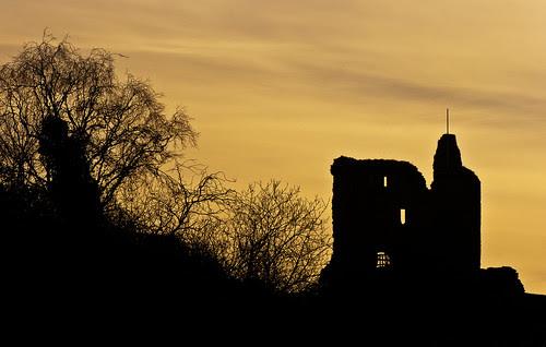 Tarbert Castle by prajpix