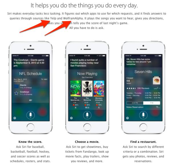 Apple - iOS 7 - Siri