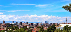 Vista de Madrid desde Vallecas
