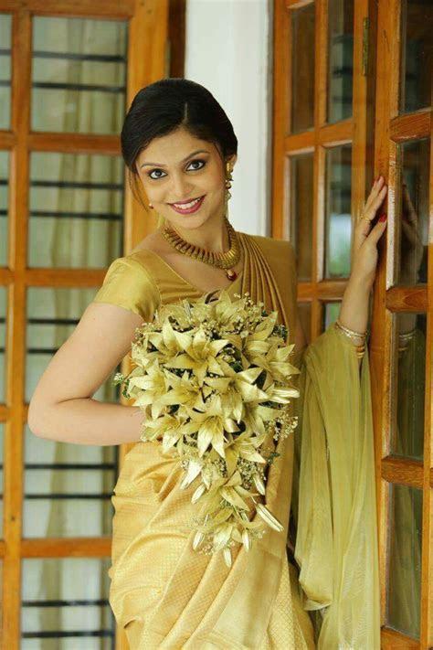 Kerala bride   Kerala bride   Christian wedding sarees