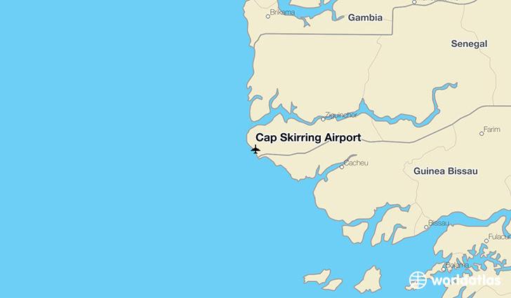 Cap Skirring Airport Csk Worldatlas