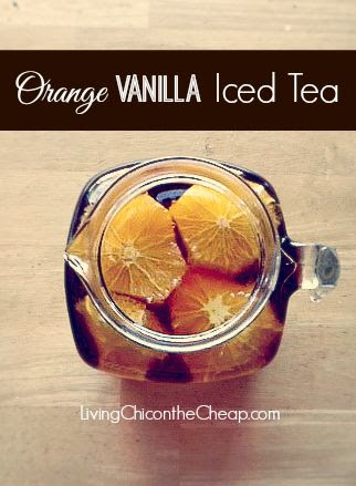 Orange Vanilla Iced Tea
