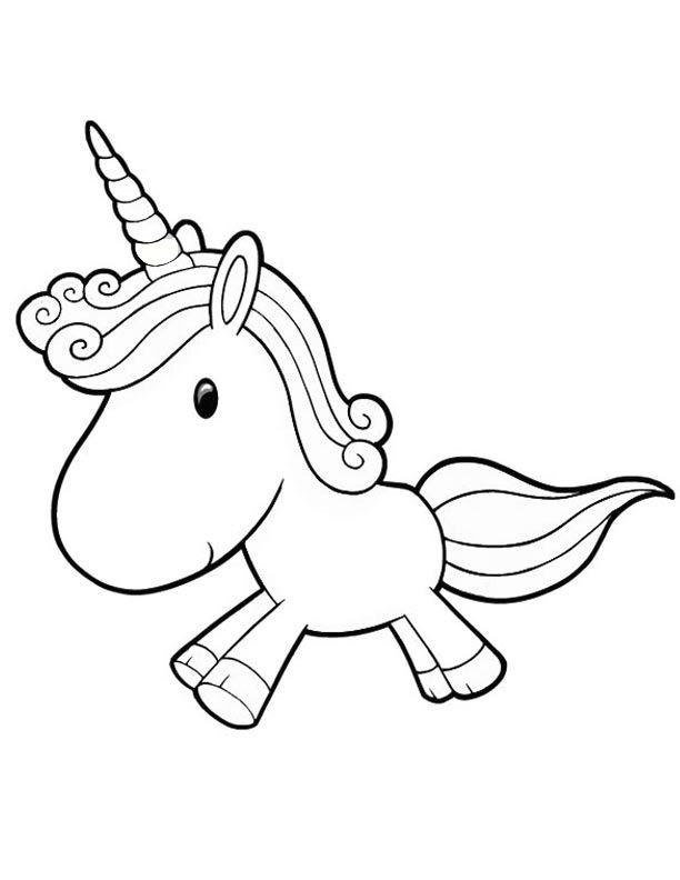 Lets Coloring Book Coloring Pages Unicorn