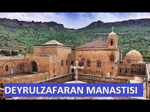 Mardin Deyrulzafaran Manastırını Geziyoruz