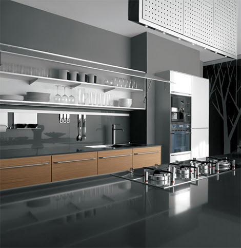 New Kitchens by Valcucine - Artematica Kembal and Artematica