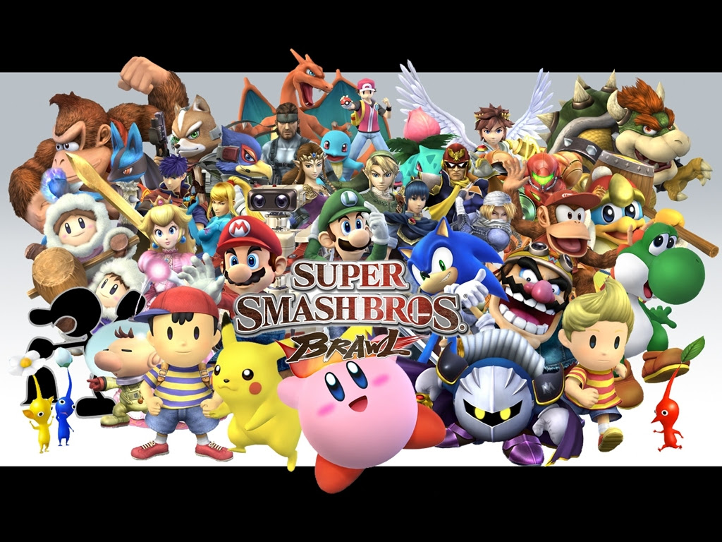 Super Smash Bros Brawl Wallpaper 1024x768 79117