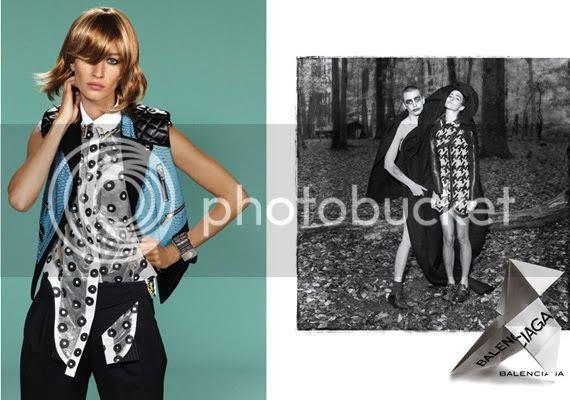 Gisele Bundchen in Balenciaga Ads