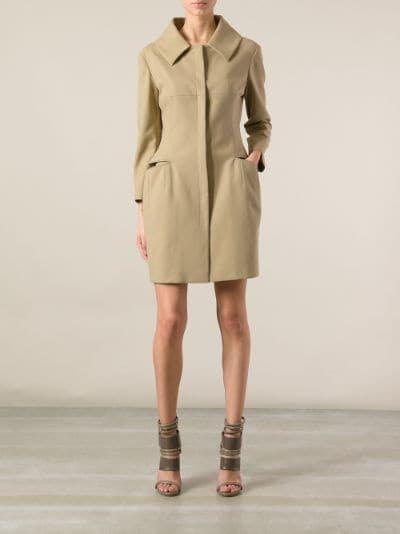 ALEXANDER MCQUEEN - hip pocket detail coat 7