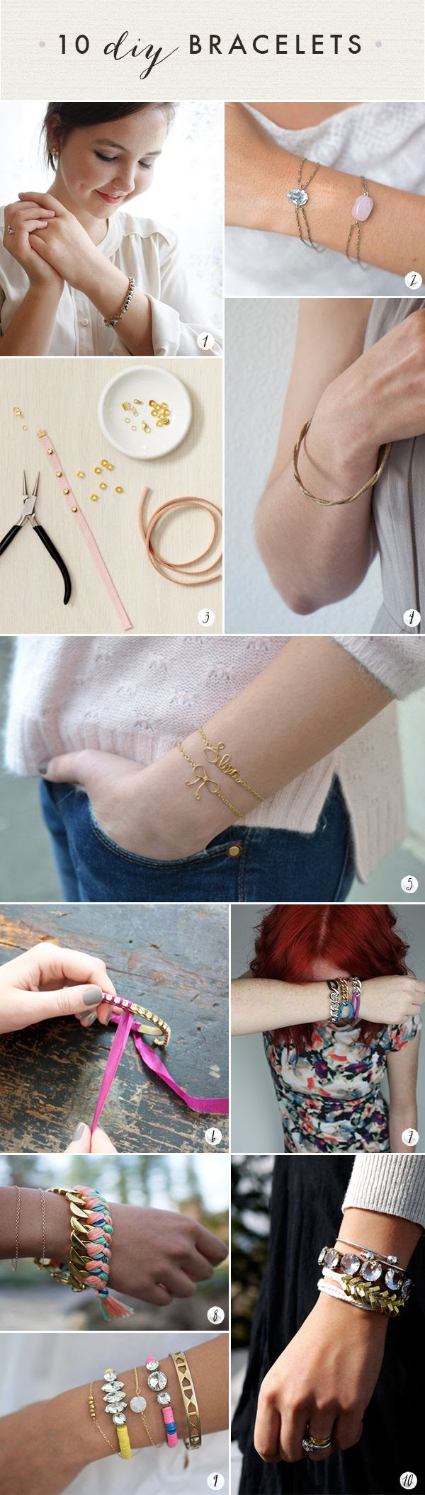60 DIY Accessories- Last Minute Gifts For Fashionistas