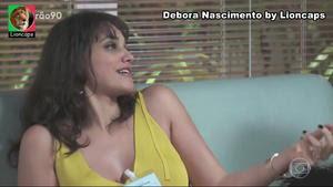 Debora Nascimento sensual na novela Verão 90