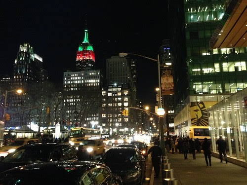 Empire State Bldg, 42nd St.