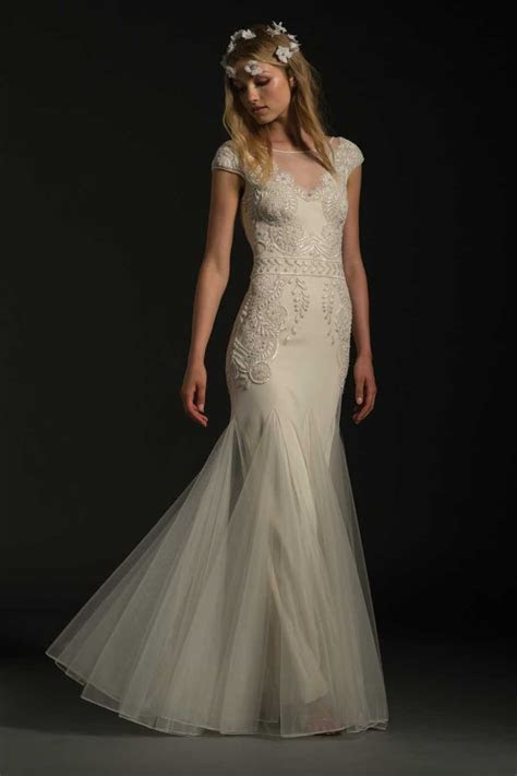 Classic Fit And Flare Wedding Dress   Kleinfeld Bridal