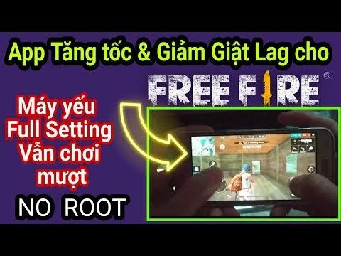 Ứng dụng Fix Lag game Free Fire OB13 | Giảm PING & Giảm Giật Lag cho máy yếu