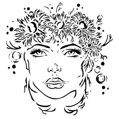 Stencil Summer girl.jpg