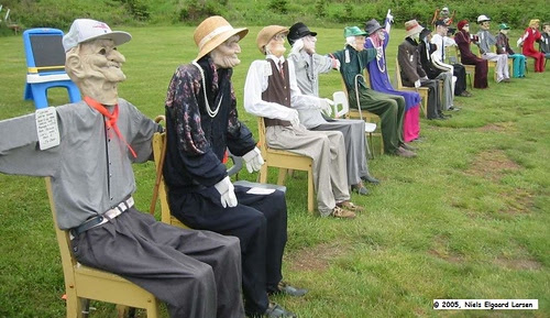 joe's scarecrows, nova scotia