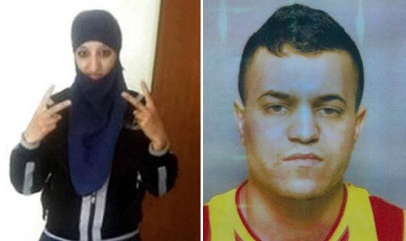 Hasna Aitboulahcen and Tarek Belgacem