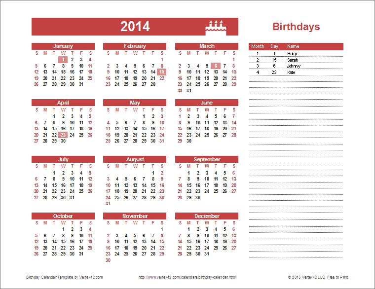 Calendar Template Rootluandroid