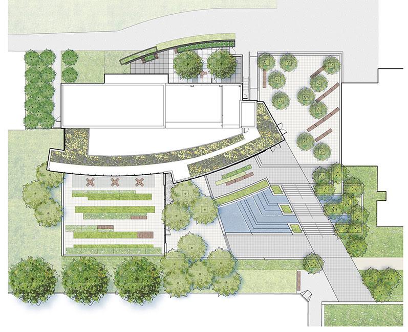 Architecture Landscape Architecture Plan